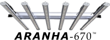 ARANHA-670 LED grow light